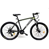 Scholl Saint Green 24 Speed MTB; Mens Sports Bike