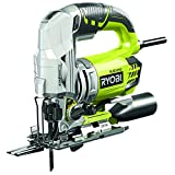 Ryobi RJS1050-K Jigsaw with Four Stage Pendulum Action, 680 W