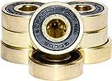 SupaFly Alpha Gold's ABEC 9 Skateboard LongBoard Roller - Best Reviews Guide