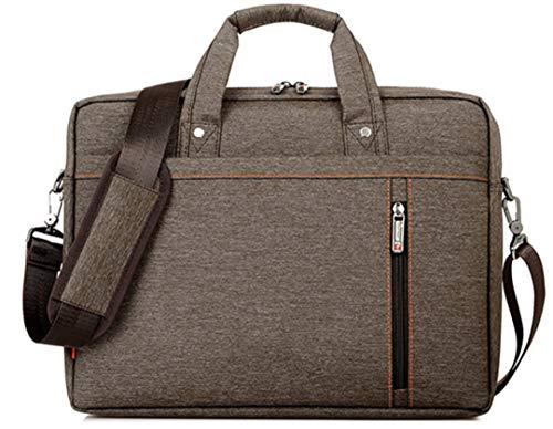 American Tourister Tote (Mode 13 14 15 17 Zoll Wasserdicht Computer Notebook Tablet Laptop Tasche Umhängetasche Männer Und Frauen Uiversal Brown 14)