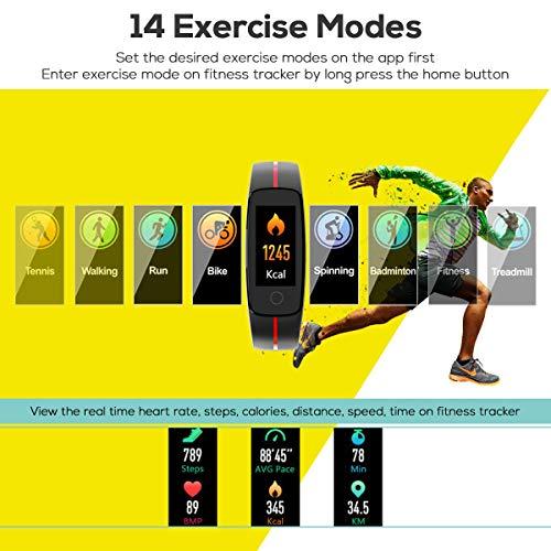Zoom IMG-3 chereeki fitness tracker cardiofrequenzimetro smartwatch
