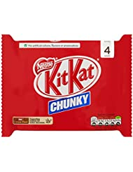 Kit Kat Chunky Milk Chocolate Bar, 4 x 40g