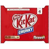 Kit Kat Chunky Milk Chocolate Bar, 4 x 40g