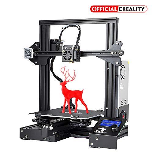 Boutique Officielle Creality Ender 3 Imprimante 3D Haute Précision avec Grande Surface d'impression...