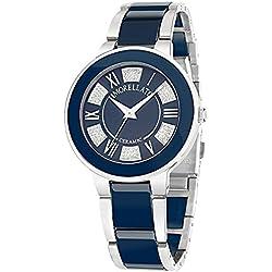 Morellato r0153118505-Roma-Ladies Watch-Analogue Quartz-Blue Dial-Blue Ceramic Bracelet