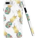 GopeE IPhone 7 Plus Case,iPhone 8 Plus Case, Marble Design Clear Bumper TPU Soft Case Rubber Silicone Skin Cover For IPhone 7 Plus (2016)/iPhone 8 Plus (2017) - B07H1J5VDV