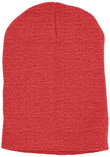 MSTRDS Beanie Basic Flap, Bonnet Homme, Taille Unique Rot (Ht.Red 3860)