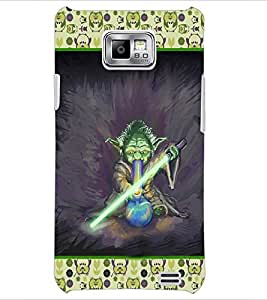 PrintDhaba Cartoon D-3624 Back Case Cover for SAMSUNG GALAXY S2 (Multi-Coloured)