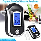 TAOtTAO Digital-LCD-Polizei-Alkoholtester-Atem-Test-Alkohol-Prüfvorrichtungs-Analysator-Detektor