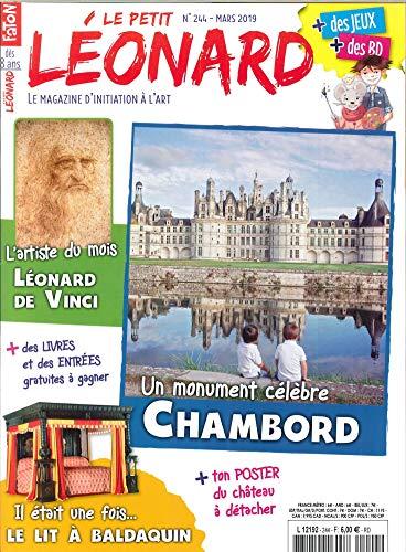 Le Petit Léonard N 244 le Chateau de Chambord - Mars 2019 par  Collectif