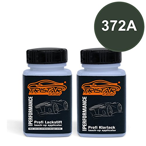 Preisvergleich Produktbild Lackstift Set FIAT / LANCIA 372A GRIGIO COLOSSEO M. / VERDE MUSK M. ab 2012 - Autolack & Klarlack - je 50 ml