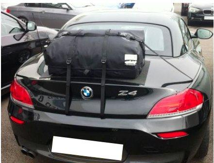 Bmw Gepäck (BMW Z4E89Gepäck Boot Rack: überdenken A boot-bag Original)