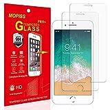 Mopiss Verre Trempé pour iPhone 6, iPhone 6s, iPhone 7, iPhone 8 (4.7'), [Pack de 2] Film Protection écran 0,33 mm HD Ultra Résistant Transparent
