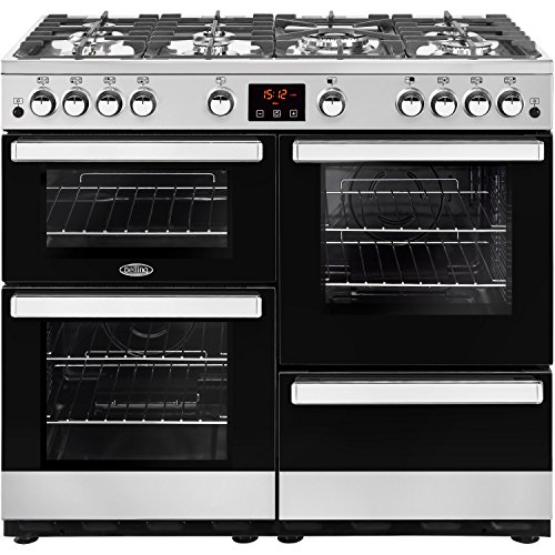 Belling 444444088 Cookcentre 100G 100cm Gas Range Cooker Stainless steel