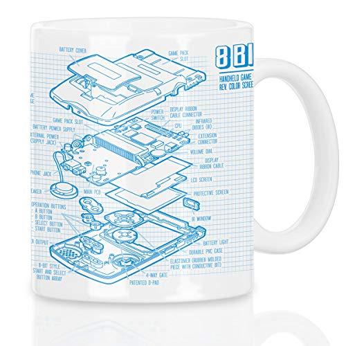 style3 8-Bit Console Portatile Cianografia Tazza Caffè