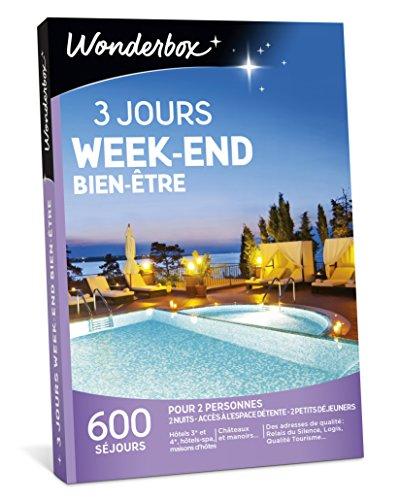 Wonderbox - Coffret cadeau couple - 3 JOURS WEEK-END BIEN-ETRE - 600 séjours en...