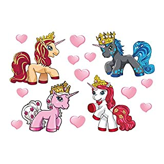 Alenio Wandsticker - Filly-Set - Bogengröße: 33x23 cm