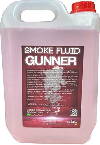 (Nebelfluid fine dichte erdbeere duft (Fluid für Nebelmaschine - Nebelflüssigkeit))