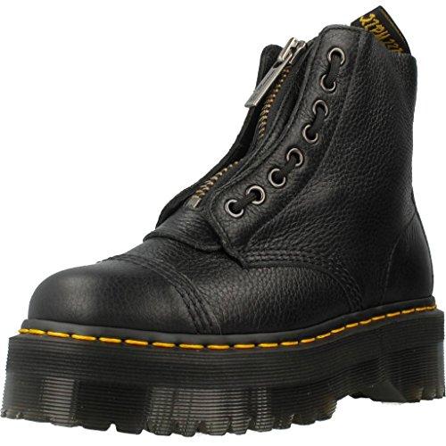 Dr.Martens Womens Sinclair Black Leather Boots 38 EU