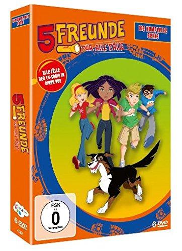 Fünf Freunde – Die Komplette Zeichentrick Serie (6 DVDs)