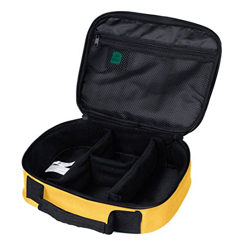 Price comparison product image BAGSMART Design Charger Organiser Electronics Accessories Bags Handy Travel Boxes Yellow