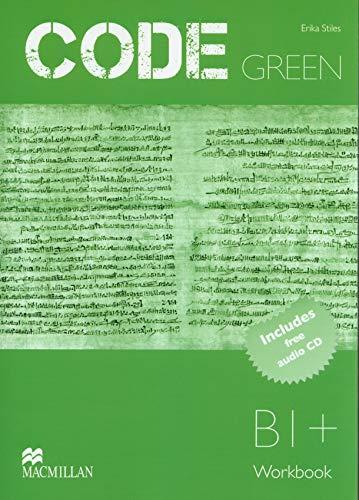 CODE GREEN B1+ Wb CD Pk