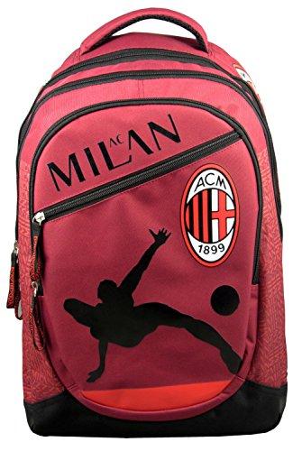 Zaino Milan Ac-Astuccio della collezione ufficiale del Milan Ac-calcio
