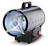 Rowi Gas-Heizstrahler Fan von 15kW, Inox Basic