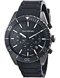 Jacques Lemans Unisex-Armbanduhr Kevin Costner Collection Chronograph Quarz Kautschuk KC-104B