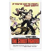 The Street Fighter Movie Poster Masterprint (60.96 x 91.44 cm)