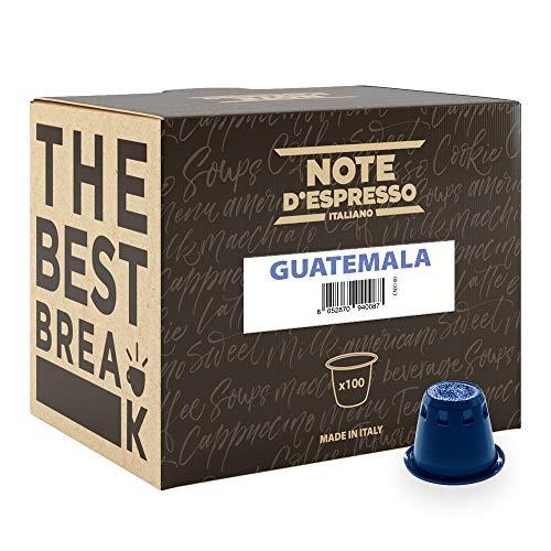 Note D\'Espresso Guatemala Miscela di Caffè Torrefatto in Capsule - 560 g (100 x 5.6 g)