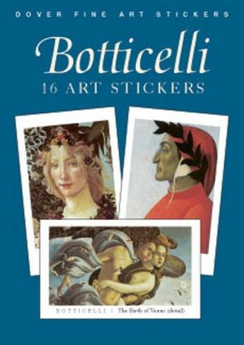Botticelli: 16 Art Stickers (Dover Art Stickers)