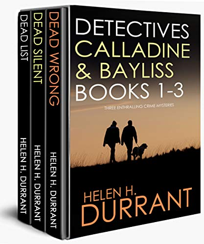 DETECTIVES CALLADINE & BAYLISS 1-3:  three enthralling crime mysteries (English Edition)