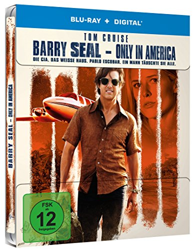 Barry Seal – Only in America- Limited Steelbook [Blu-ray]