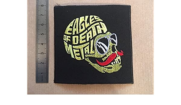 ECUSSON PATCHES AUFNAHER TOPPA QUEENS OF THE STONE AGE THERMOCOLLANT