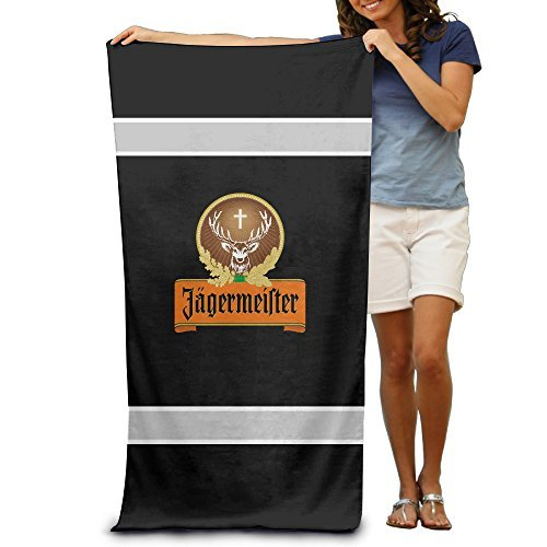 ouidtk-jagermeister-logo-beach-towel-for-adults-by-ouidtk