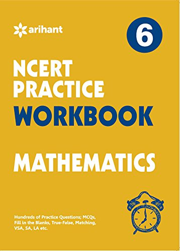 CBSE WORKBOOK MATH CLASS 6 for 2018 – 19 51fYZAcVlhL