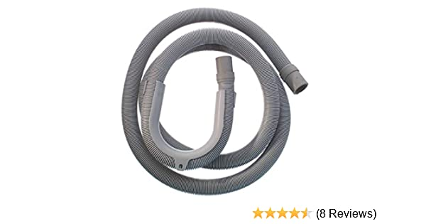 Washing Machine Drain Hose Waste Pipe 2.5metre 2.5m 90 Degree end.1st CLASS POST