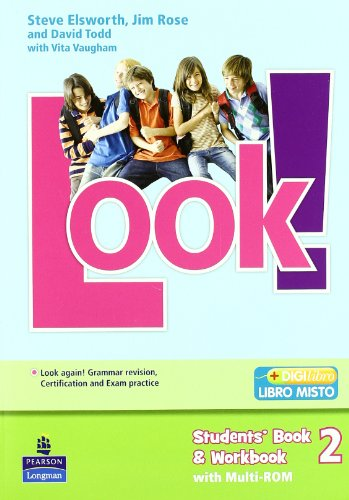 Look! Student's book-Workbook-Look again. Per la Scuola media. Con Multi-ROM. Con espansione online: 2