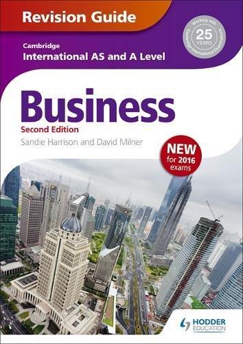 Cambridge International AS/A Level Business Revision Guide 2nd edition (Cambridge Intl As/a Level)