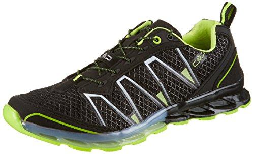 Zapatos amarillo Unisex Trail fluo Negros Nero Atlas Cmp Zw45v