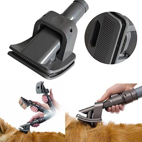 selbstreinigend Professional Zupfbürste Pflege Kamm für Hunde und Katzen Animal Allergy ()