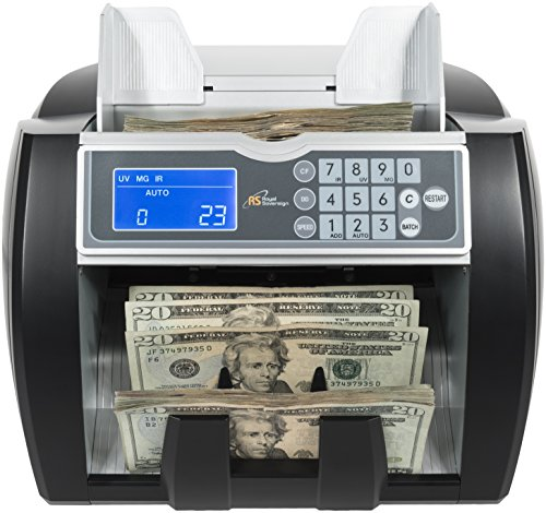 Royal Sovereign Geld Zählen Maschine, High Speed Bill Zähler, UV, MG, IR Falschgeld Bill Detektor, vorne Laden, variable speed (rbc-5000) (Maschine Zähler Geld)