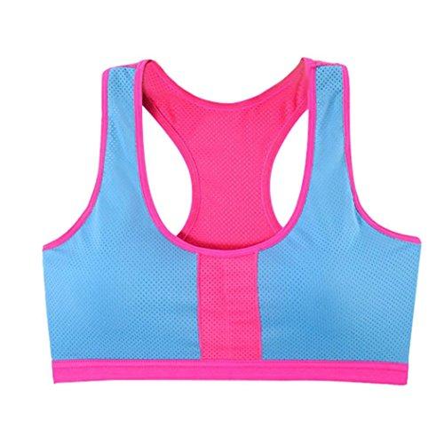 Hochzeitskleid Klebe-BHS Sosofish Bra Frauen Yoga Fitness Stretch Workout Weste Sport BH Slips...