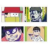 Osomatsu san funny face post card set vol.1-B Japan New