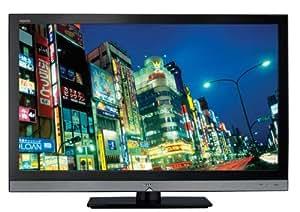 Sharp Aquos LC 40 LE 600 E 101,6 cm (40 Zoll) Full-HD LCD-Fernseher mit LED-Backlight mit integriertem DVB-T Tuner schwarz/silber