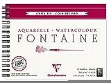 Clairefontaine 96313C Album a Spirale, 18 x 24 cm, 12 Fogli, Bianco