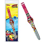 fundesign Disney Micky Maus - Digitale Armbanduhr - ROT GRAU