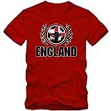 England WM 2018#2 T-Shirt Herren Team GB Trikot Nationalmannschaft, Farbe:Rot (Red L190);Größe:XXL