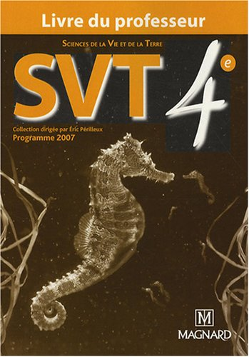 SVT 4e : Livre du professeur